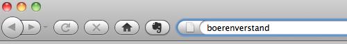 Firefox slimme adresbalk